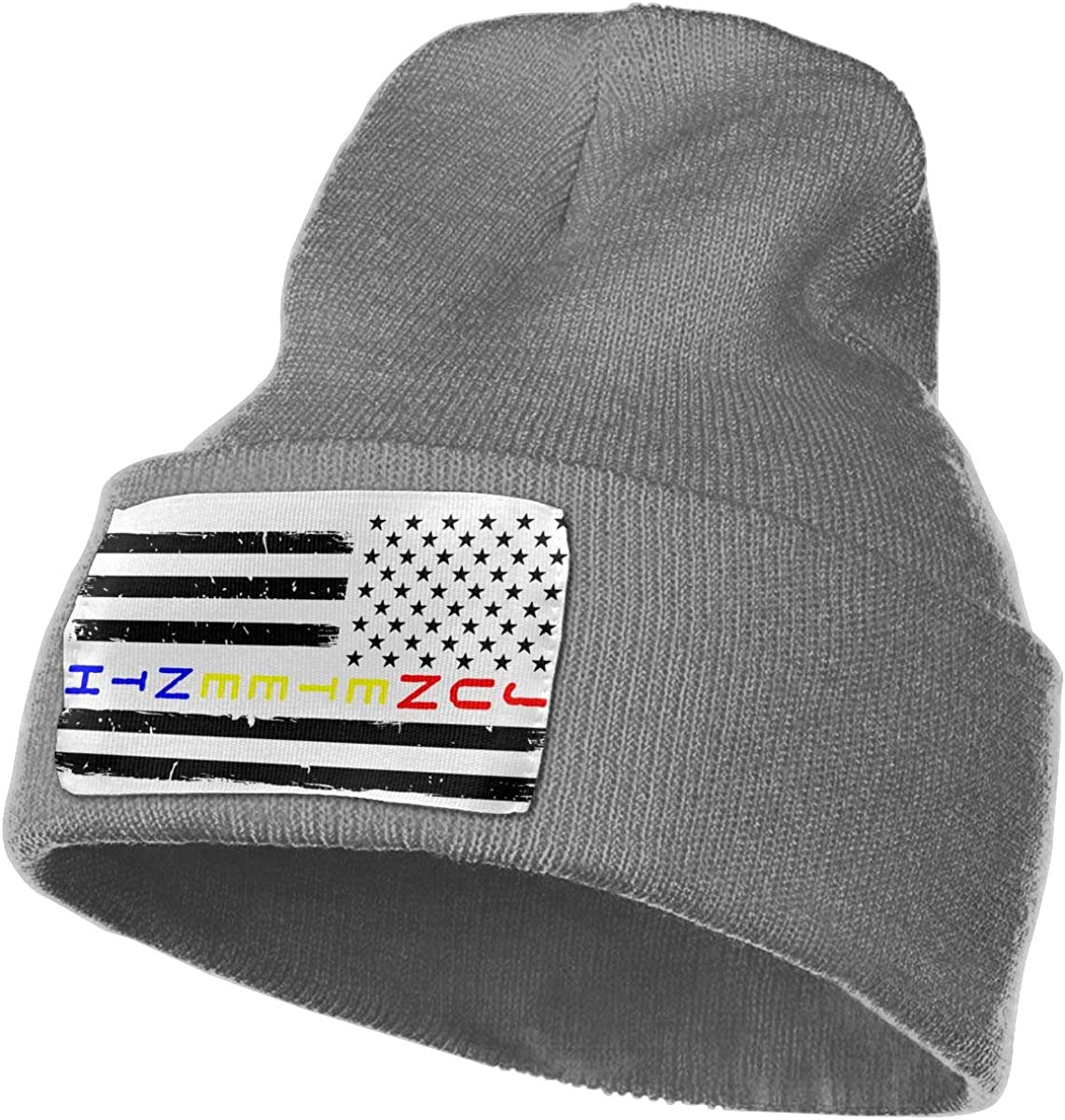 TAOMAP89 Juneteenth Flag Women and Men Skull Caps Winter Warm Stretchy Knitting Beanie Hats