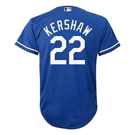 Amazon.com   Clayton Kershaw Los Angeles Dodgers  22 MLB Youth Cool ... 4c96c739b05