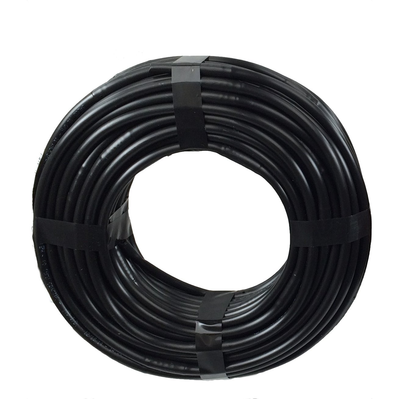 1/4 Poly Dripline 6'' Spacing 0.5 GPH 100' Roll Black Drip Tubing