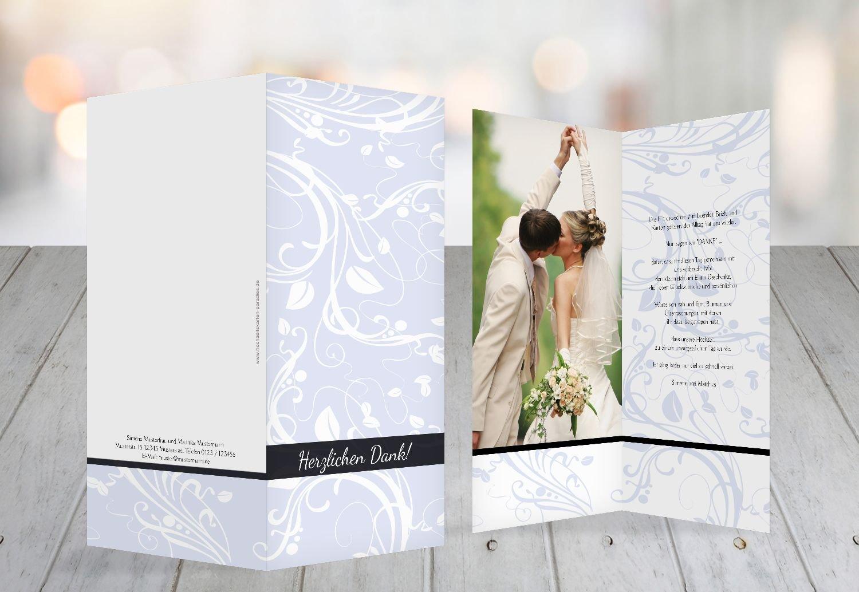 Kartenparadies Danksagung für Hochzeitsgeschenke Hochzeit Dankeskarte Blättertraum, hochwertige hochwertige hochwertige Danksagungskarte Hochzeitsglückwünsche inklusive Umschläge   10 Karten - (Format  105x215 mm) Farbe  RosaRosa B01NBX0QUM | Die Farbe i 8e3cfe