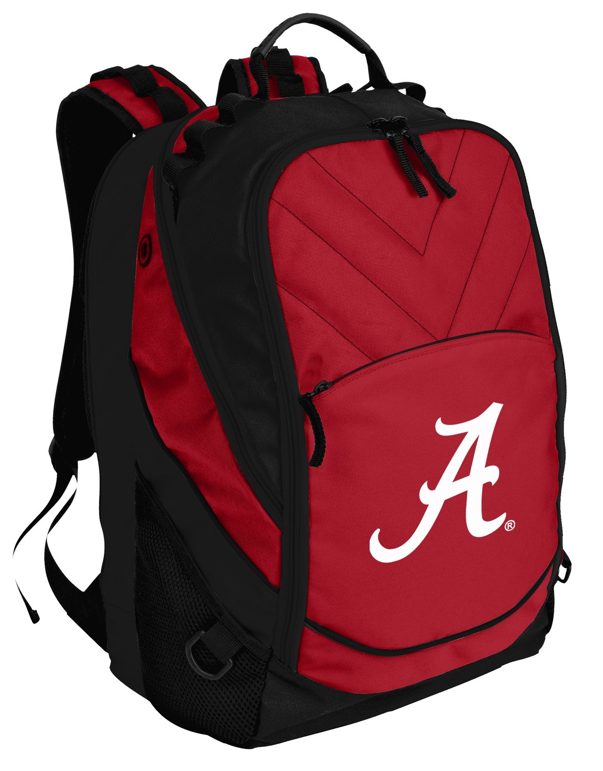 Broad Bay Alabama Crimson Tide Backpack Red UA University of Alabama Laptop Computer Bags by Broad Bay (Image #4)