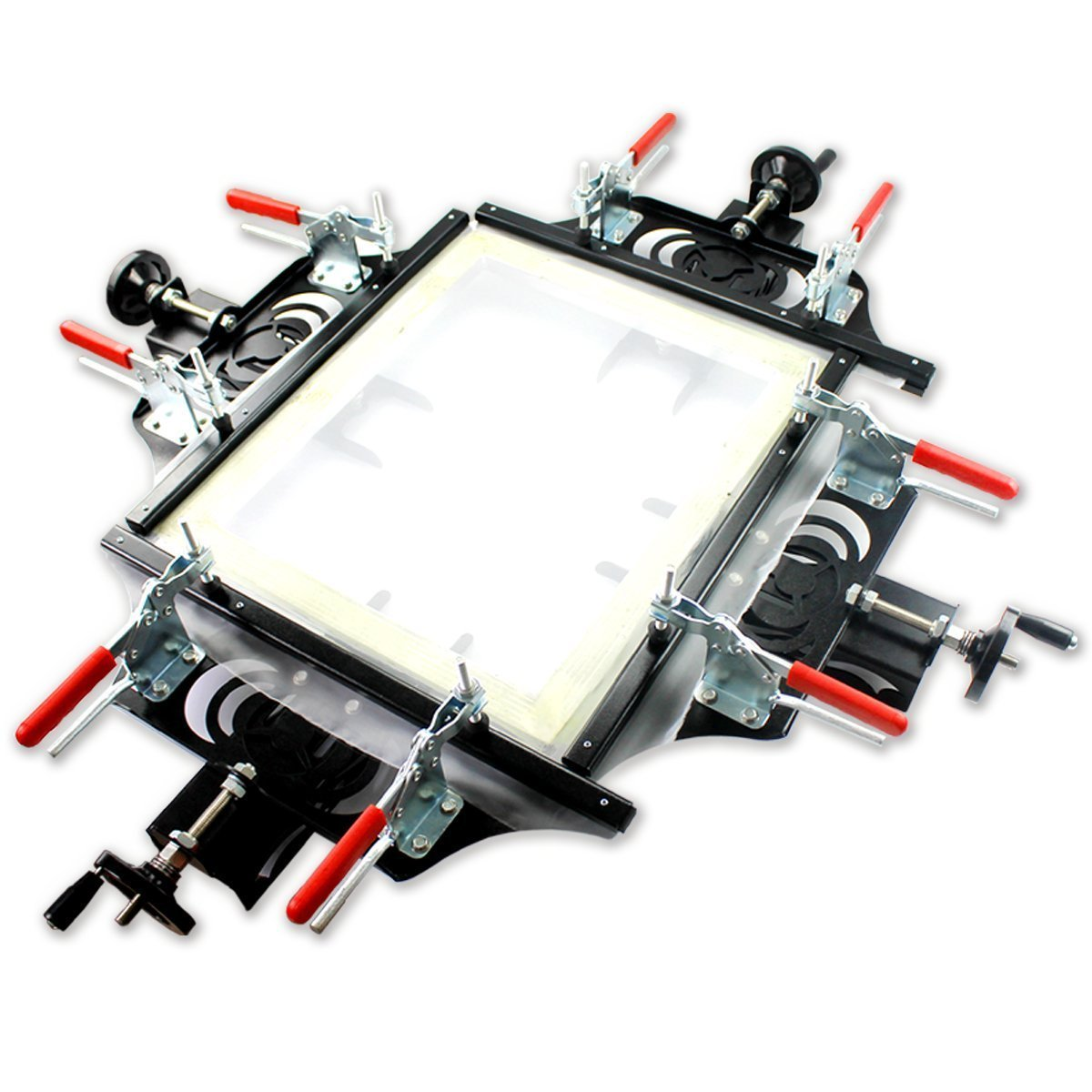 Fast Clip Manual Stretcher Screen Printing Plate Making Tool for Silk Screen Printing 60cm×60cm(24inches×24inches)