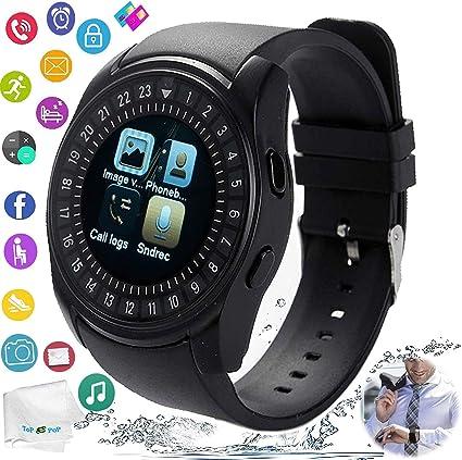 Amazon.com: Reloj inteligente con Bluetooth y pantalla ...