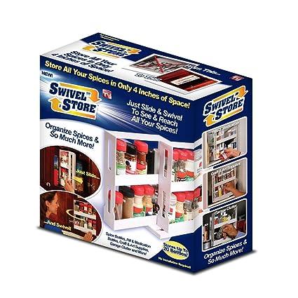 As Seen On Tv Spice Rack Simple Amazon Swivel Store Spice Rack Organizer As Seen On TV Spice