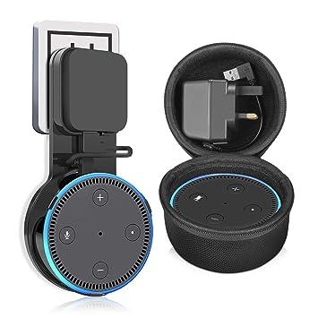 Kupton Wandhalterung für Echo Dot 2, Steckdose: Amazon.de: Elektronik