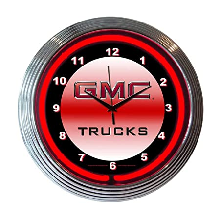 Neonetics Decorative Gmc Truck Neon Wall Clock