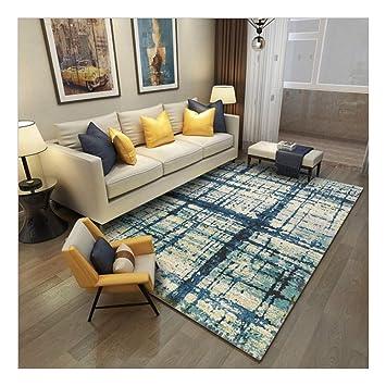 Damengxiang Moderne Fur Wohnzimmer Rechteck Stripe Abstrakte