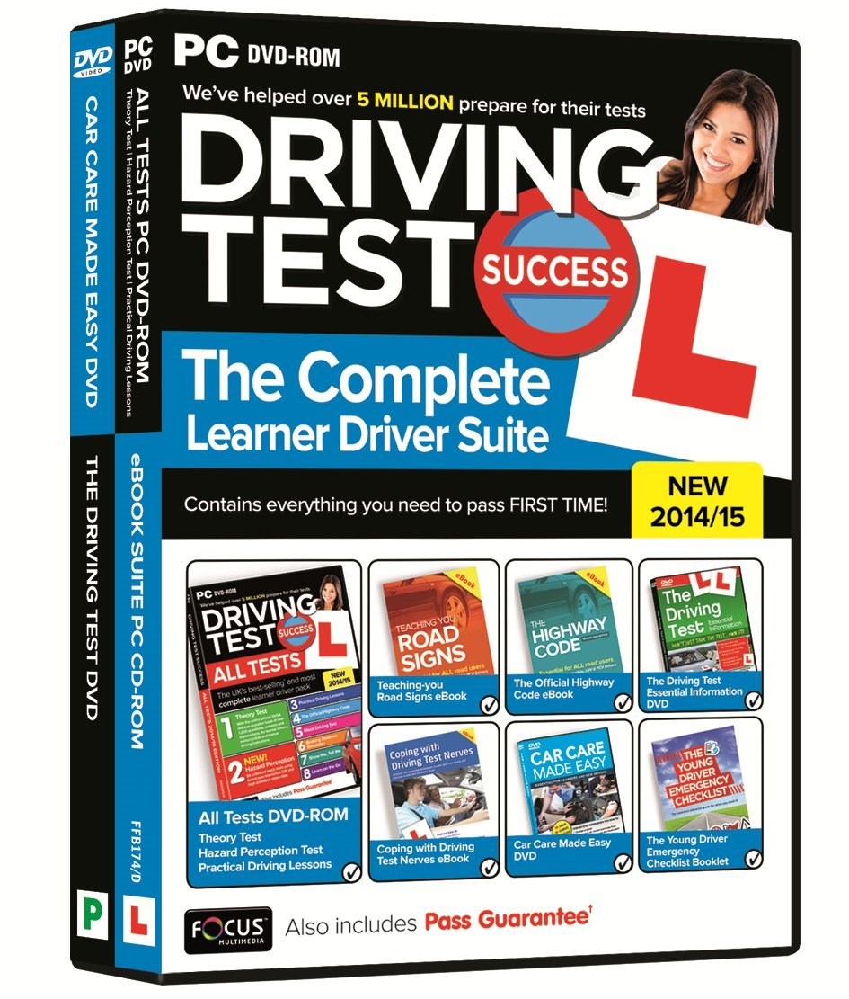 Driving test success the complete learner driver suite 201415 pc driving test success the complete learner driver suite 201415 pc focus multimedia amazon software fandeluxe Image collections