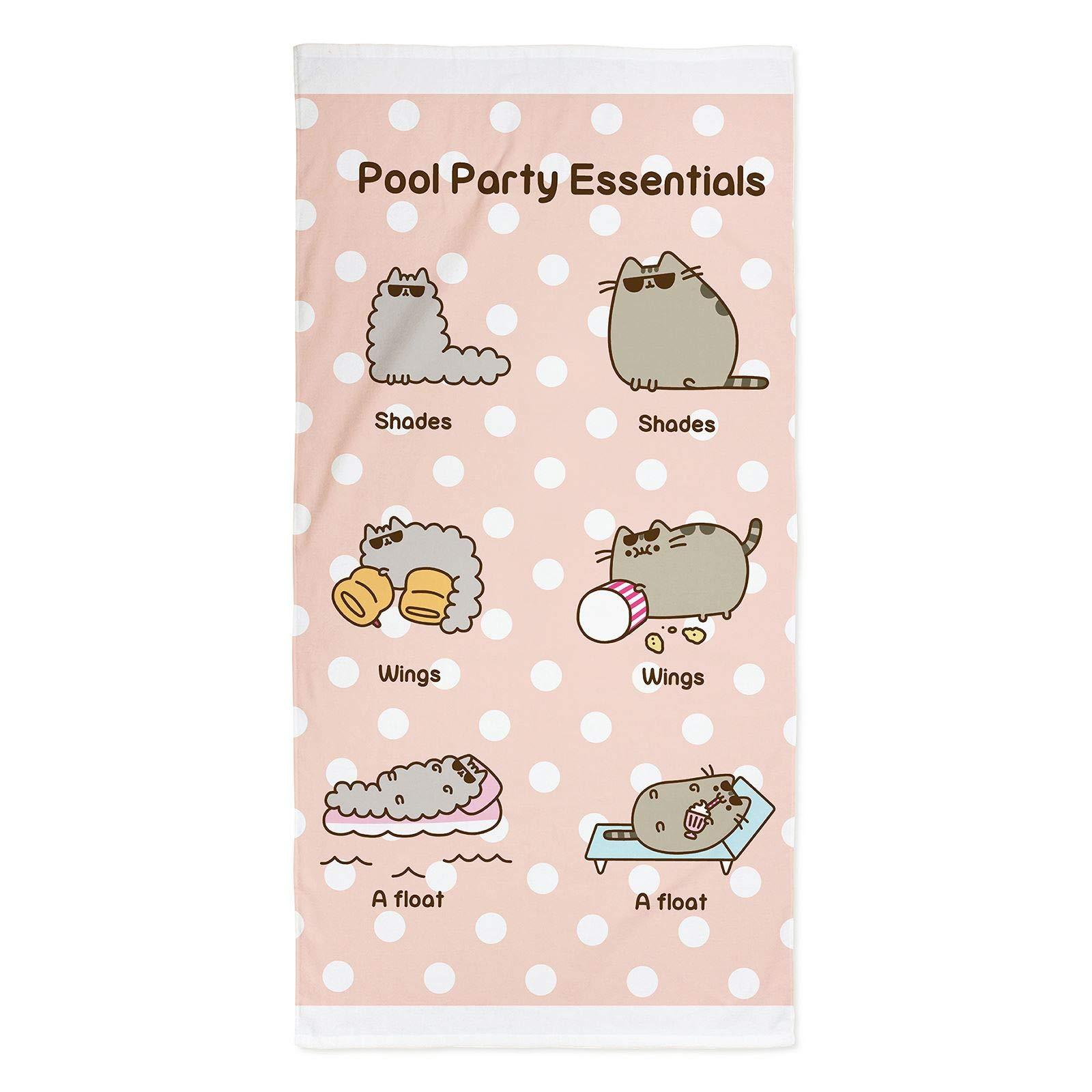 Character World Pusheen Party Beach Towel