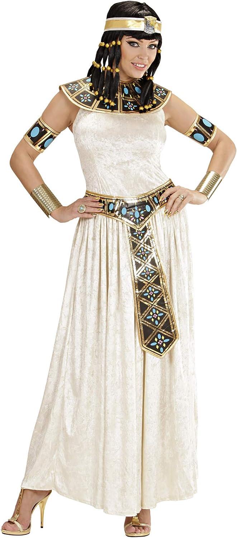 WIDMANN Widman - Disfraz de emperatriz egipcia para mujer, talla M (W3277-M)