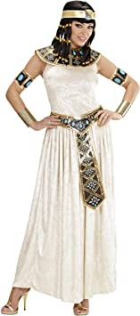 WIDMANN Widman - Disfraz de emperatriz egipcia para mujer, talla ...