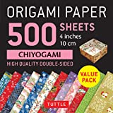 Origami Paper 500 sheets Chiyogami Patterns