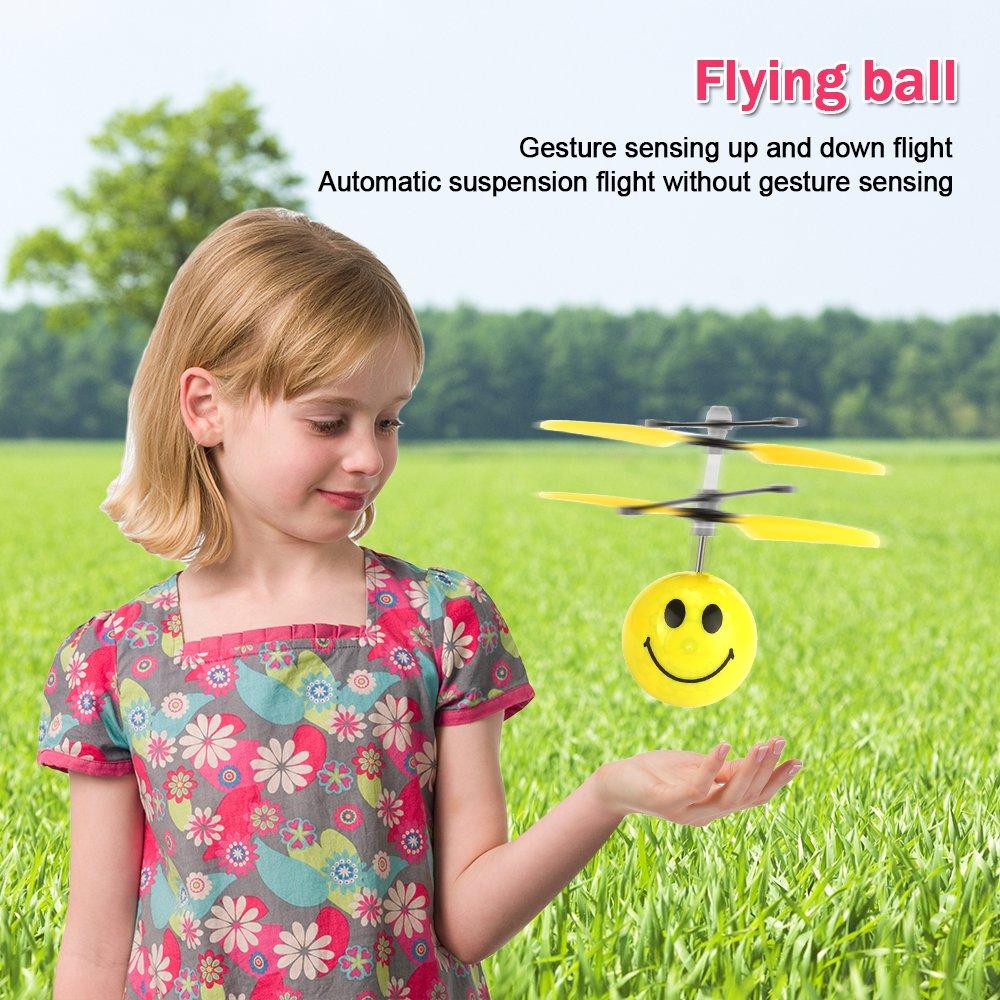 Fliegende Kugel, Neuheit Coole Spielzeug Geschenke Spielzeug für 3 ...