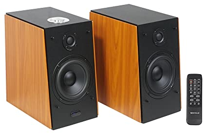 Rockville RHB70 Home Theater Compact Powered Speaker System w Bluetooth//USB//FM Audiosavings