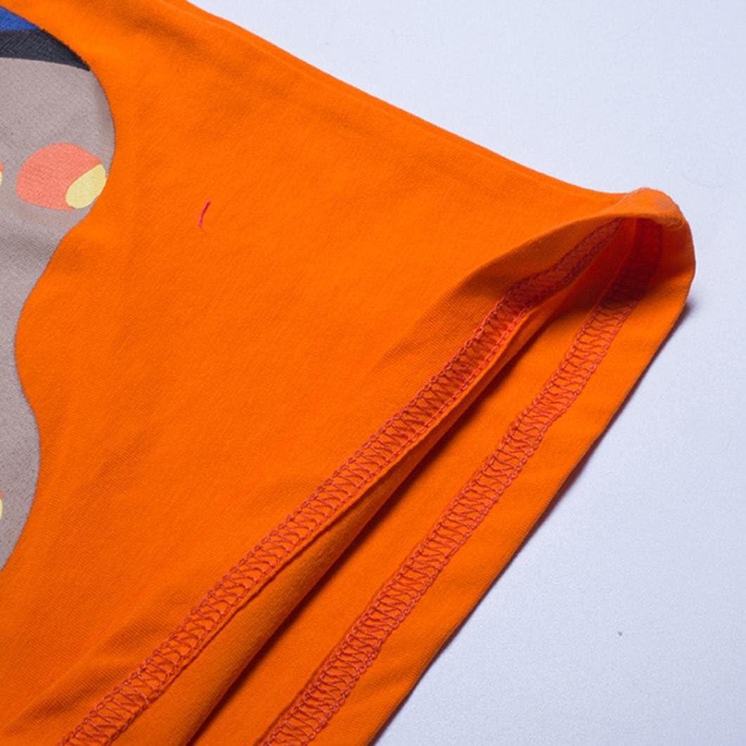 WARMSHOP Boys Mix Color Short Sleeve Cartoon Pattern Cotton Summer Cloth Tank Tops