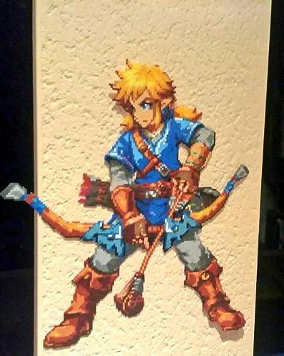 Sprite Link The Legend Of Zelda Breath Of The Wild Hama
