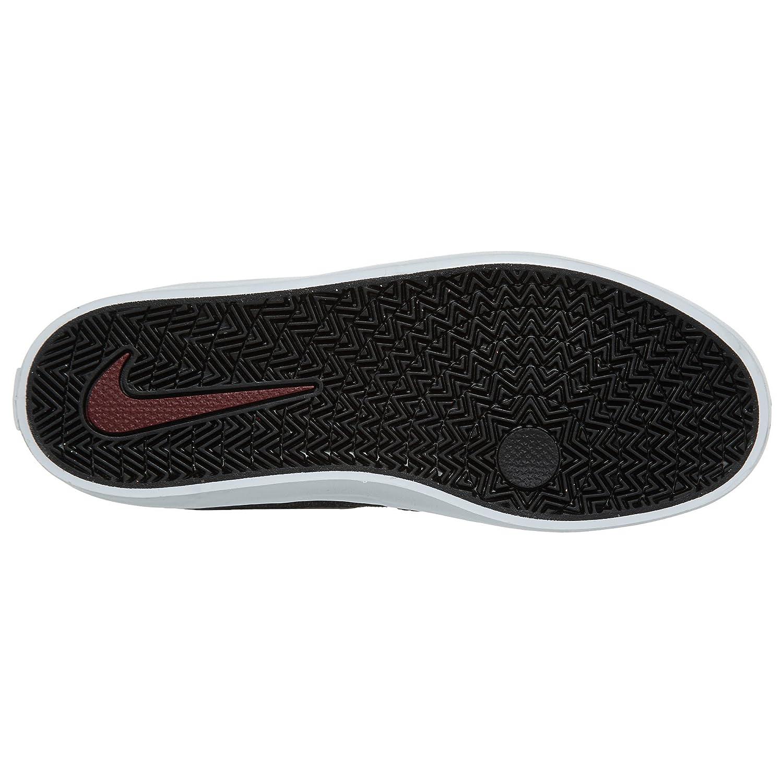 NIKE Men's SB Check Solar CNVS Skate Shoe B01K3PIKEE 4.5 D(M) US|Black Black Team Red
