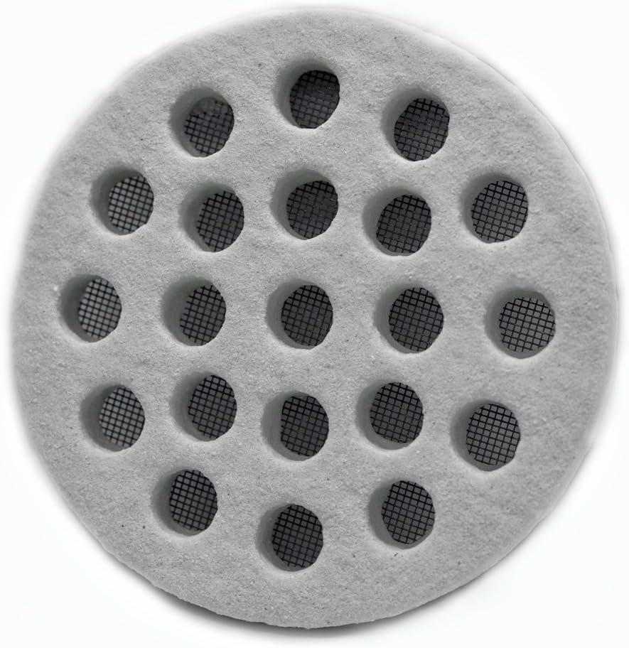 /Ronde 14/cm effet pierre Grille d/écorative pour a/ération et ventilation dext/érieur/