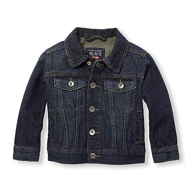 c1f79d36 Amazon.com: The Children's Place Baby Boys' Denim Jacket: Clothing