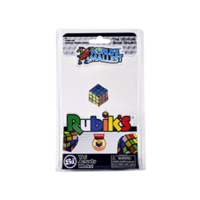 World's Smallest Rubiks Cube: Toys & Games
