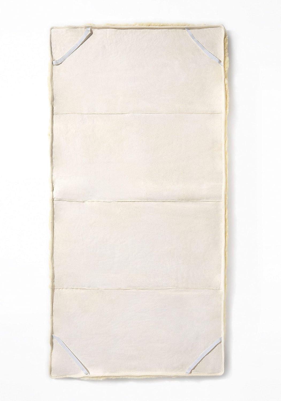 Gr/ö/ße:70 x 140 Hofbrucker Baby Lammfellauflage Merinolammfell f/ür Babybett oder Laufstall