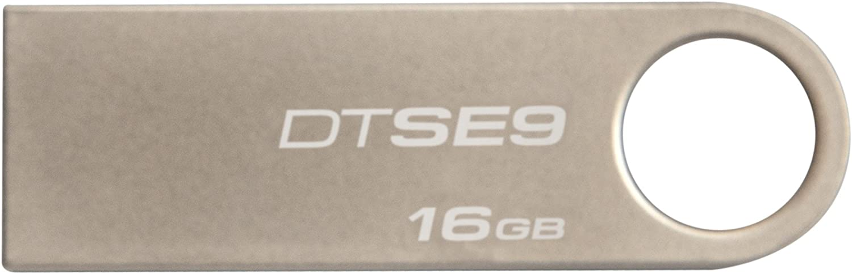 Pendrive Plug, Plateado 16GB Kingston