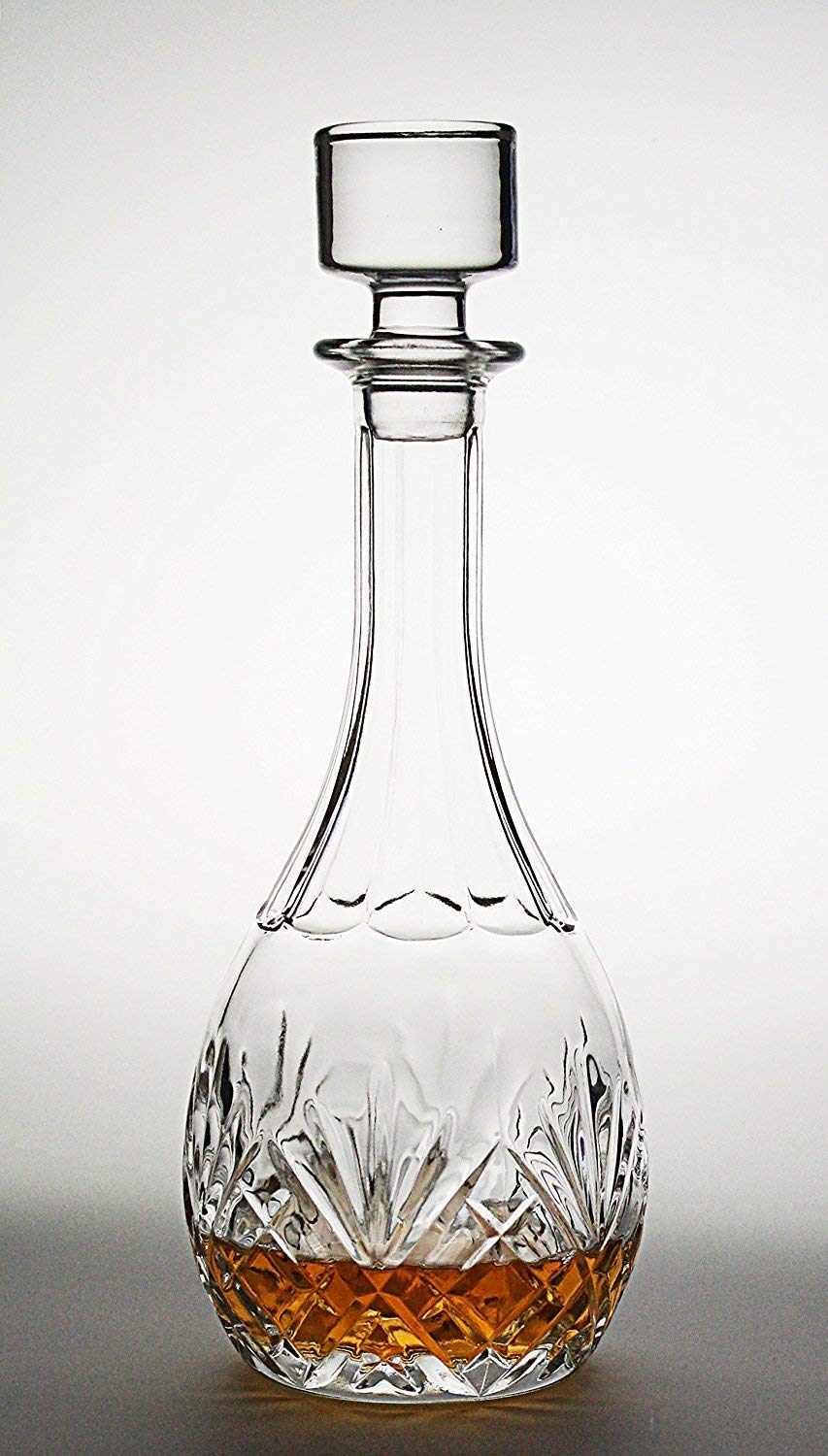 Red Wine Carafe Bezrat Wine Decanter Wine Gift 100/% Hand Blown Lead-free Crystal Glass Wine Accessories