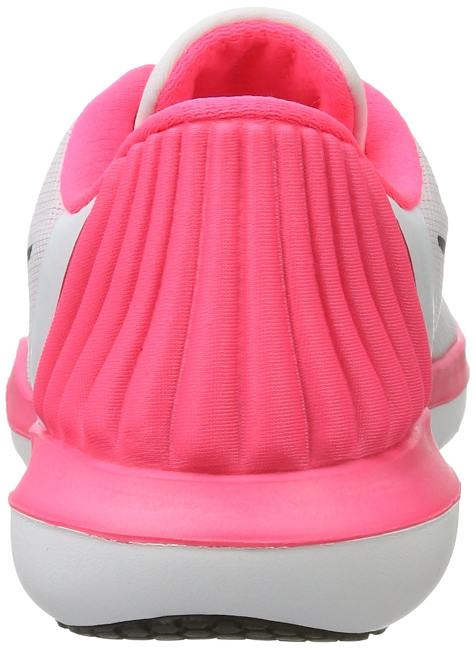 NIKE Women's Flex Supreme TR 5 Cross Training Shoe B01LPORWSW 10 B(M) US|Pure Platinum/Black/Racer Pink/Wolf Grey
