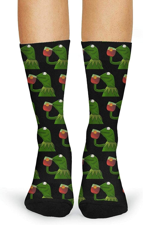 Womens Stockings Warm Hungry Frog Long Boot Socks