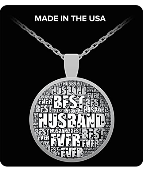 Amazon Best Husband Ever Gifts From Wife Necklace