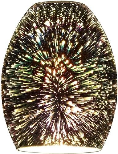 Burst Oblong Art Glass Shade
