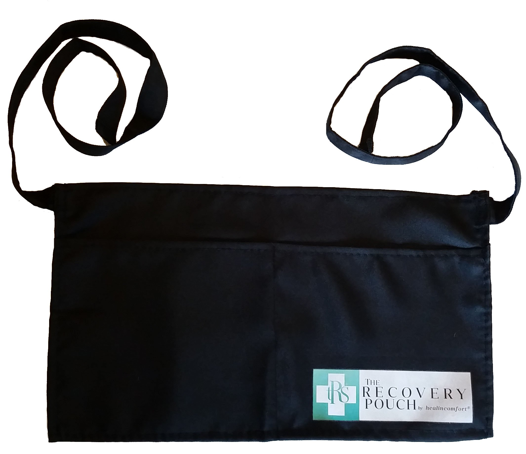 Heal in Comfort Breast Cancer Mastectomy Drainage Pouch Apron Belt 2 Large Pockets Enough For Drains Cell Phones TV Changer by Heal in Comfort