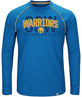 3aa318ac9 Game Time Golden State Warriors Mens Fast Break Long Sleeve Raglan T Shirt