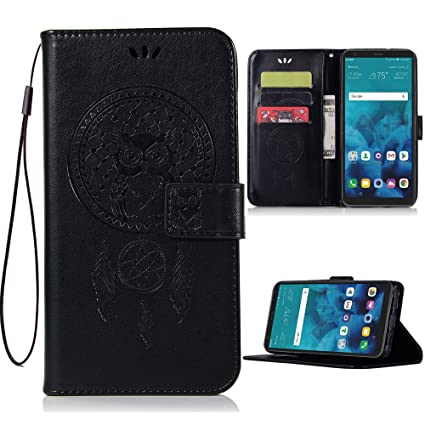 the latest 20c53 44b2d LG Stylo 4 Case,LG Stylo 4 Plus Phone Case,LG Q Stylus 4 Wallet Case,PU  Leather Wallet Flip Case with Credit Card Holder and Kickstand Dreamcatcher  ...