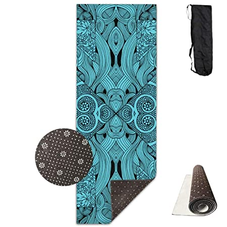 HiExotic Estera Yoga Mat Eco-Friendly Anti Slip Blue ...