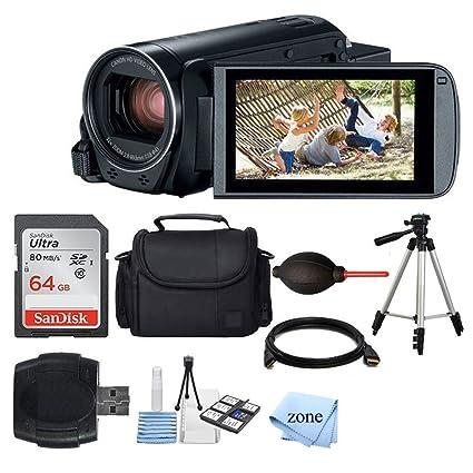Amazon.com: Canon VIXIA HF R800 videocámara (negro) + ...