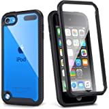 iPod Touch 7th Generation Case, IDweel Armor Shockproof Case Build in Screen Protector Heavy Duty Full Protection Shock…