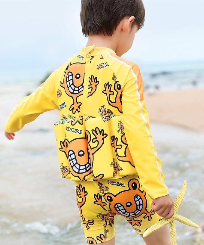 Amazon.com: Traje de baño para niñas con protección UV UPF ...
