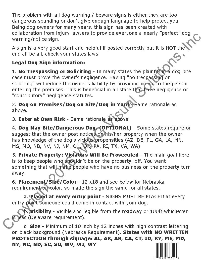 amazon com beware of dog sign world u0027s only legal beware of dog