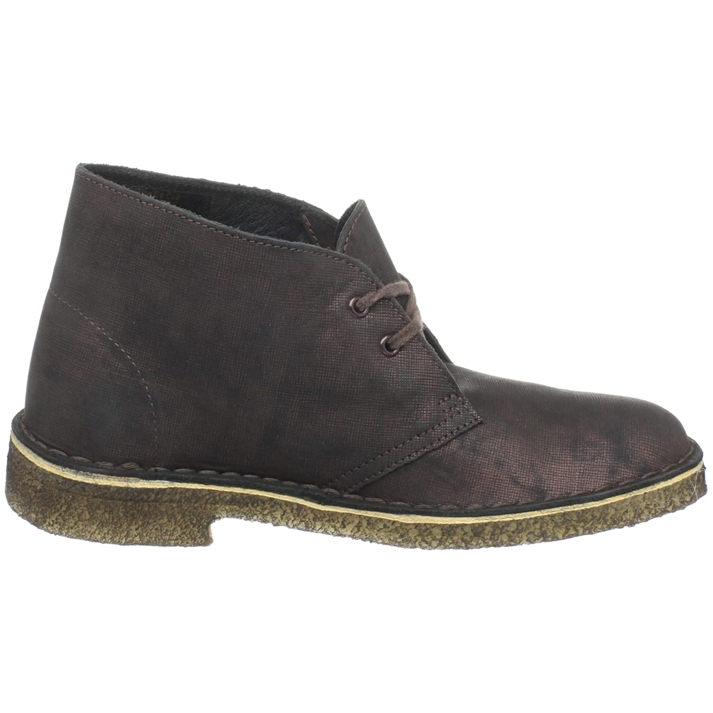 CLARKS Women's Desert Boot Ankle Bootie B0037KLH8O 6 B(M) US|Copper Metalic
