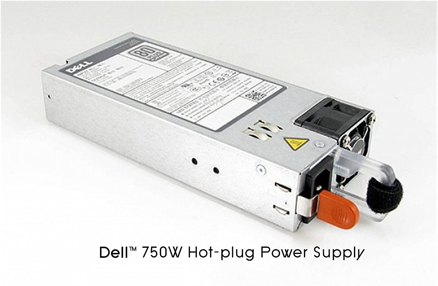 750W redundant power supply for Dell PowerEdge R720, R720XD, R520, R620, R820, T320, T420 and T620 server. (Renewed)