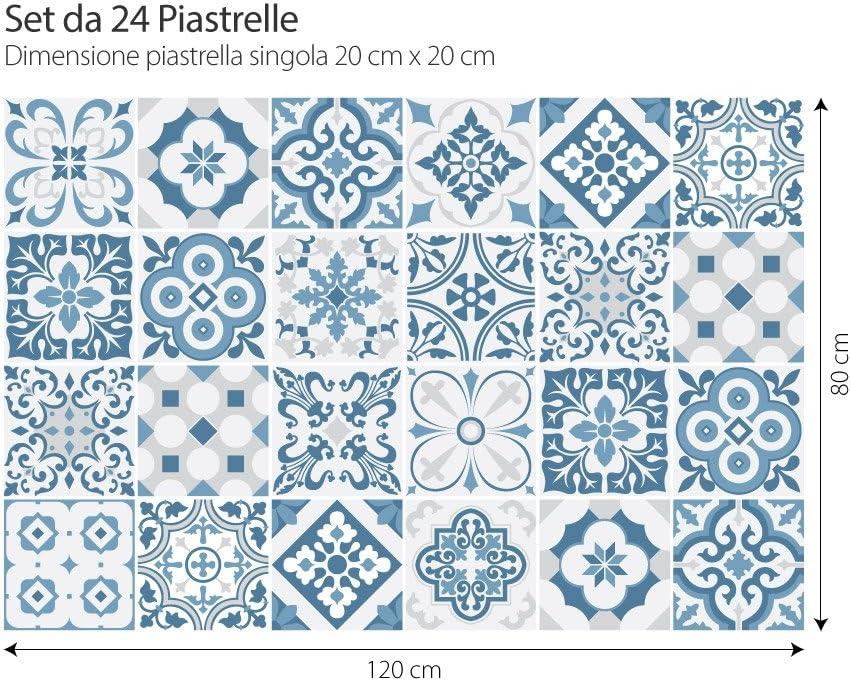 24 (Piezas) Adhesivo para Azulejos 15x15 cm - PS00104 - Lagos ...