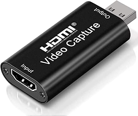 Live Broadcasting Gaming Audio Video Capture Cards 4k Cam Link 1080P HDMI to USB 2.0 Record to DSLR Camcorder Action Cam Computer Capture Device for Streaming Video Conference Teaching