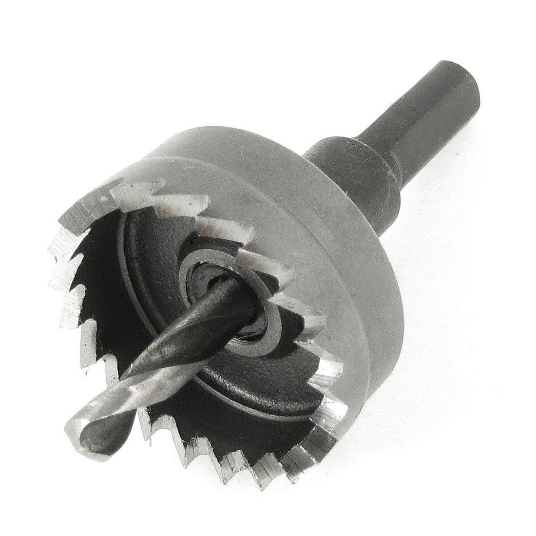 Hierro cortador redondo filo 5 mm Metal taladro sierra perforadora el/éctrica Bit 32 mm x 65 mm negro