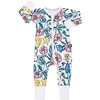 Bonds Zip Wondersuit Long Sleeve - Tomorrow Floral White (18-24 Months)