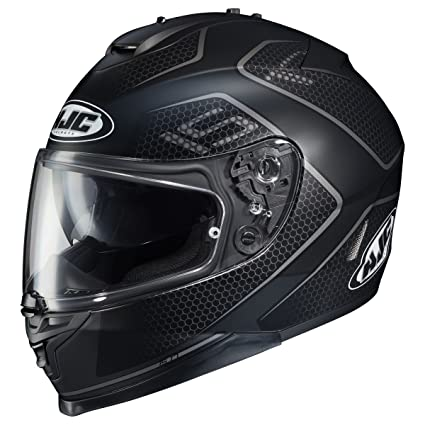 HJC Lank Mens IS-17 Sports Bike Motorcycle Helmet - MC-5SF / Medium