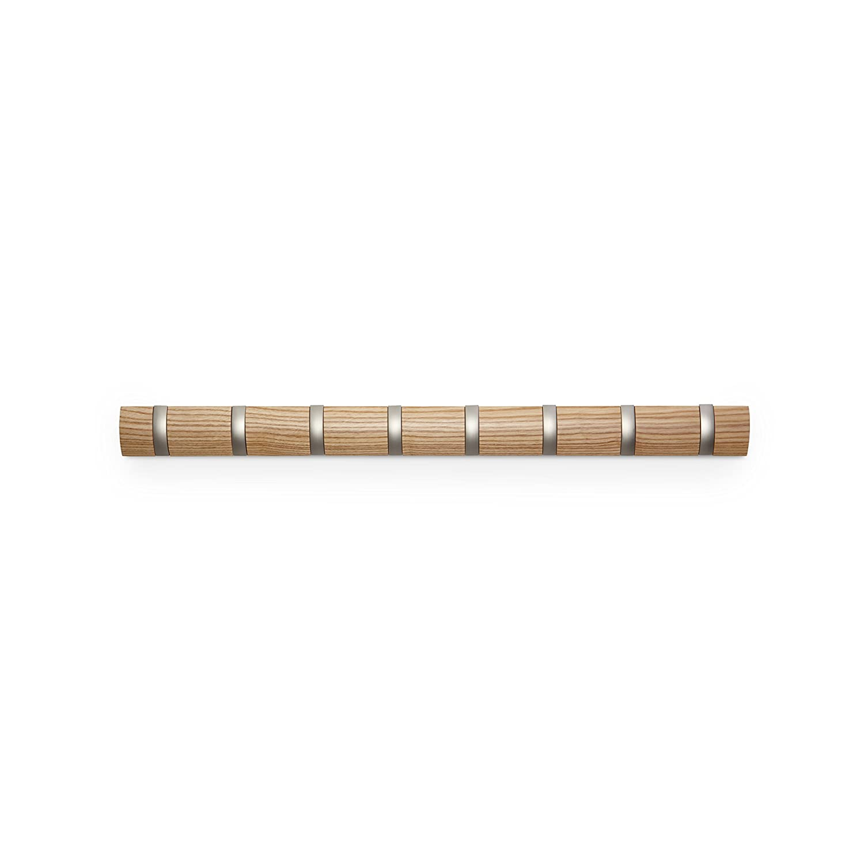 Umbra 318858-390 Percha de pared Flip 8 Natural