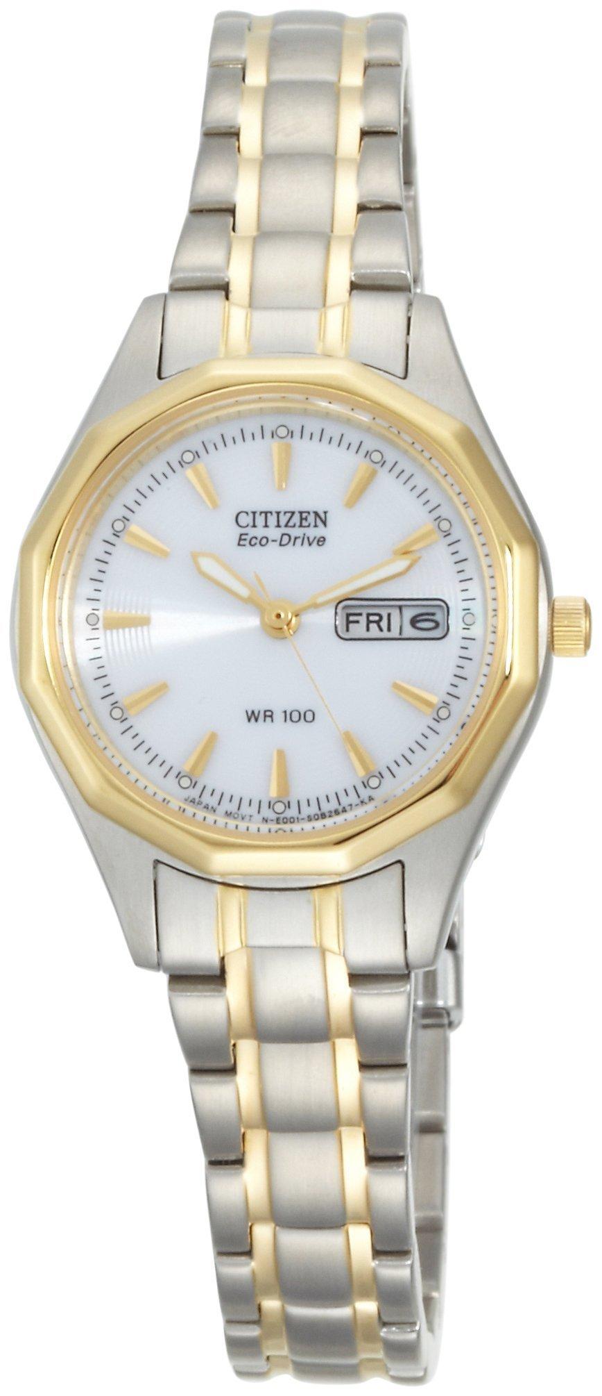 Citizen Women's EW3144-51A Eco-Drive Sport Two-Tone Watch by Citizen (Image #2)