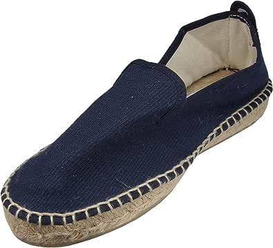 Alpargata Plana Copete Azul Marino Mujer: Amazon.es: Zapatos y complementos