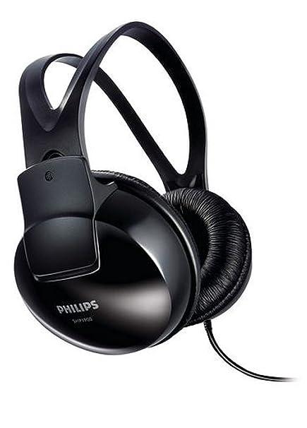 Philips SHP1900/10 Over Ear Stereo Headphones  Black  Over Ear